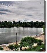 Hoyt Lake Delaware Park 0002 Acrylic Print