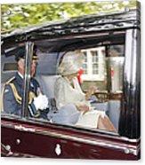 Hrh Prince Charles And Camilla Acrylic Print