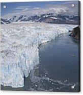 Hubbard Glacier Encroaching On Gilbert Acrylic Print