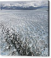 Hubbard Glacier, Gilbert Point Acrylic Print