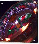 Human Roulette Wheel Acrylic Print