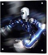 Humanoid Robot, Artwork Acrylic Print