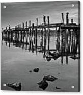 Humboldt Bay Ruins Acrylic Print