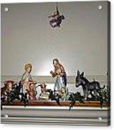 Hummel Nativity Set Acrylic Print