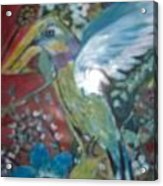 Hummingbird Fantasy Acrylic Print