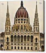 Hungarian Parliment Building Acrylic Print