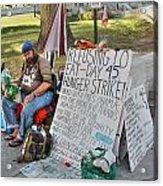 Hunger Strike Acrylic Print