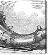 Hunting Horn, 1869 Acrylic Print