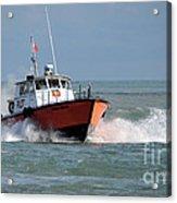 Huron Belle Pilot Boat Acrylic Print