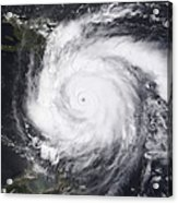 Hurricane Dean In The Atlantic Acrylic Print