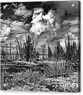 Hurricane Isaac Clouds Acrylic Print