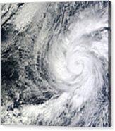 Hurricane Kenneth Off The Coast Acrylic Print