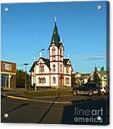 Husavik Iceland Church Acrylic Print