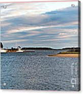Hyannisport At Sunset Acrylic Print