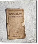 Hymnal Acrylic Print