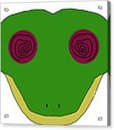Hypno Frog Acrylic Print