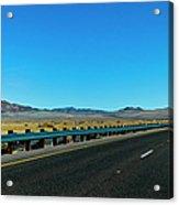I-15 Highway, Los Angeles To Las Vegas Acrylic Print