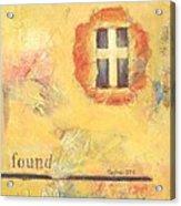 I Am Found Acrylic Print by Joanna Gates