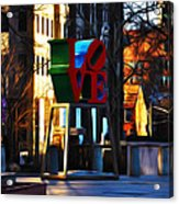 I Did It For Love Acrylic Print