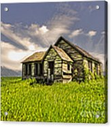 I Dont Know Idaho Acrylic Print by Gregory Dyer