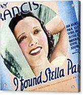 I Found Stella Parish, Kay Francis, 1935 Acrylic Print