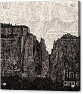 I Have Climbed  A Mountain Acrylic Print