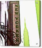 I Love New York Acrylic Print