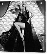 I Married A Woman, Diana Dors, 1958 Acrylic Print by Everett