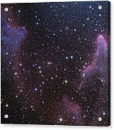 Ic 59 And Ic 63 Near Gamma Cas Acrylic Print