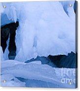 Ice 18 Acrylic Print