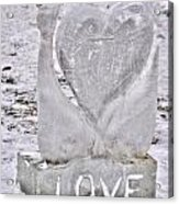 Ice Cold Love Acrylic Print