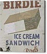 Ice Cream Sandwich Acrylic Print