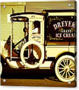 Ice Cream Truck Acrylic Print