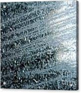 Ice Crystals Abstract Acrylic Print