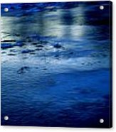 Ice Frost And Snow Acrylic Print