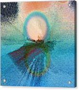 Ice Reflections Acrylic Print
