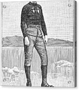 Ice Skater, 1880 Acrylic Print