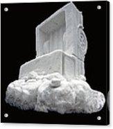 Ice Snow Truckers Acrylic Print