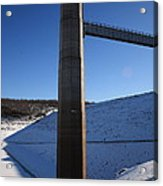 Ice Tower Catwalk 2 Acrylic Print