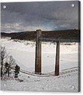 Ice Tower Catwalk Acrylic Print