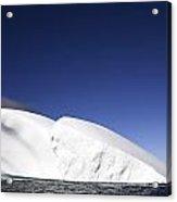 Iceberg In Canadian Arctic Acrylic Print by Richard Wear