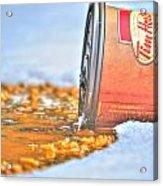Iced Cap Acrylic Print