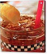 Iced Tea Acrylic Print