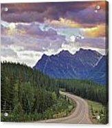 Icefields Parkway, Jasper National Acrylic Print