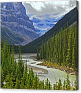 Icefields Parkway Acrylic Print