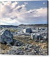 Iceland Barren Landscape - 02 Acrylic Print