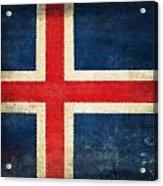 Iceland Flag Acrylic Print