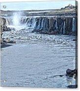 Iceland Waterfall Selfoss 03 Acrylic Print