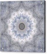 Icy Mandala 5 Acrylic Print