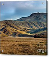 Idaho Foothills Acrylic Print